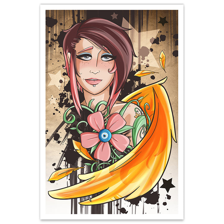 Cadence, Punk Rock Princess - 8x12 Print - [product_vender] - Corvink