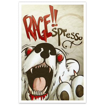 RAGE!!spresso Coffee Cafe - 8x12 Print - [product_vender] - Corvink