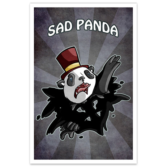 Sad Panda - 20x30 Poster - [product_vender] - Corvink