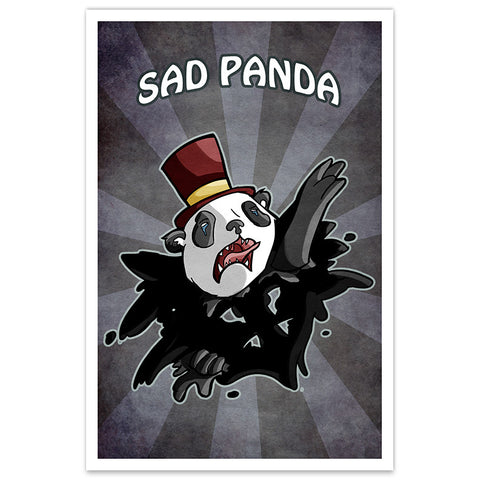Sad Panda - 8x12 Print - [product_vender] - Corvink