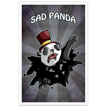 Sad Panda - 12x18 Print - [product_vender] - Corvink
