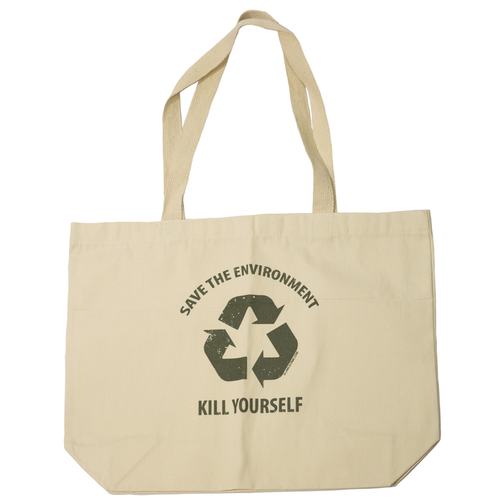 Save the Environment, KYS - Tote Bag