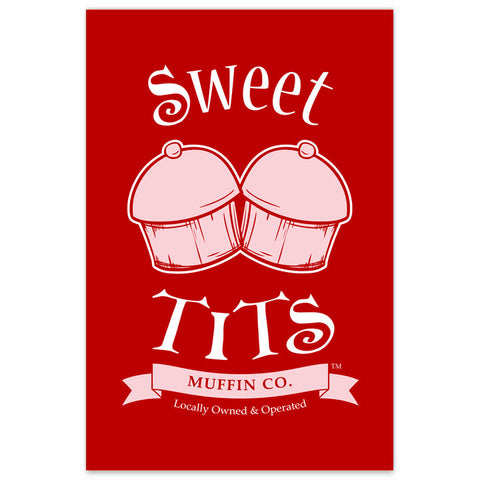 Sweet Tits Muffin Co. - Logo - 8x12 Print
