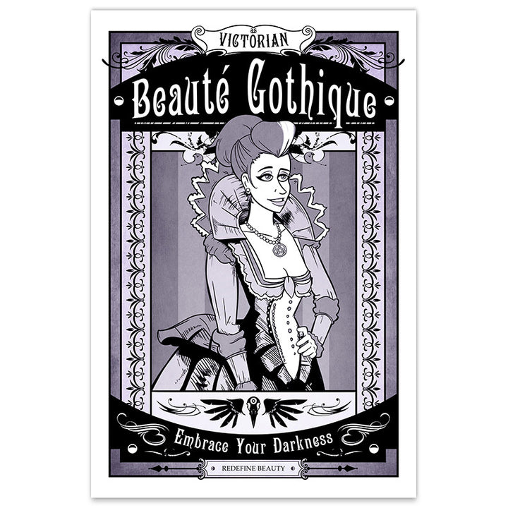 Victorian Beauté Gothique - 8x12 Print - [product_vender] - Corvink