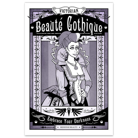 Victorian Beauté Gothique - 12x18 Print - [product_vender] - Corvink