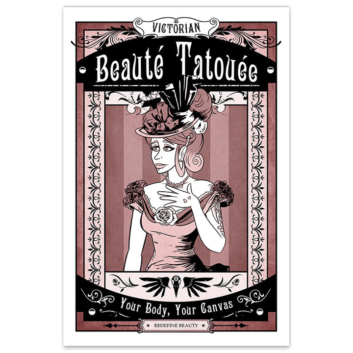 Victorian Beauté Tatouée - 12x18 Print - [product_vender] - Corvink