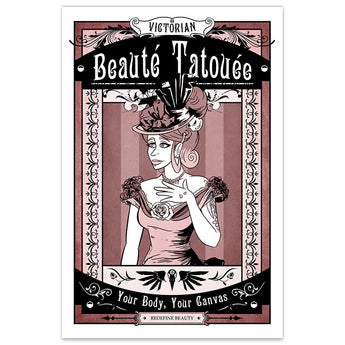 Victorian Beauté Tatouée - 8x12 Print - [product_vender] - Corvink