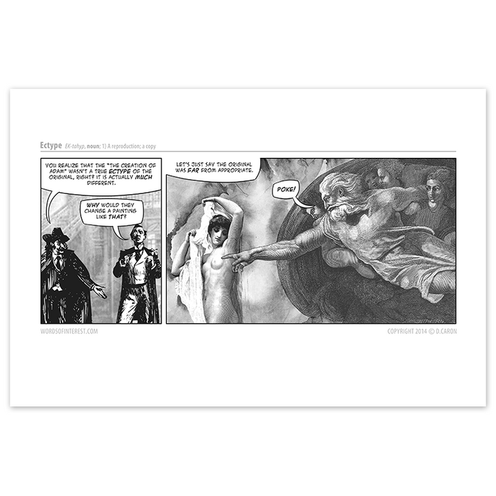 Words of Interest - Ectype  - Comic Print - [product_vender] - Corvink