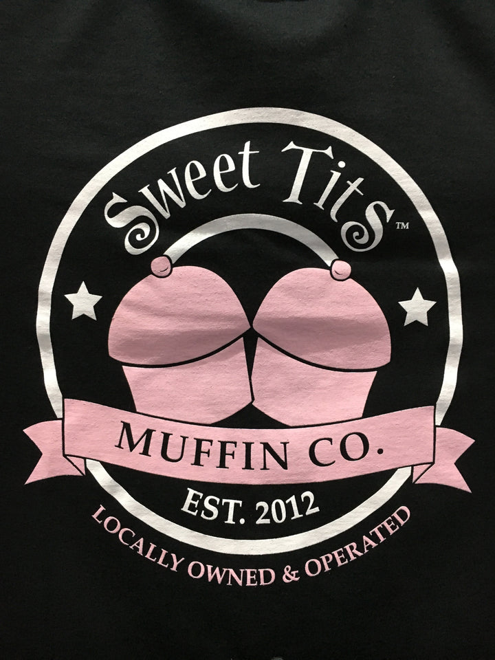 Sweet Tits Muffin Co. - Black - Unisex Shirt (Black Label) [III]