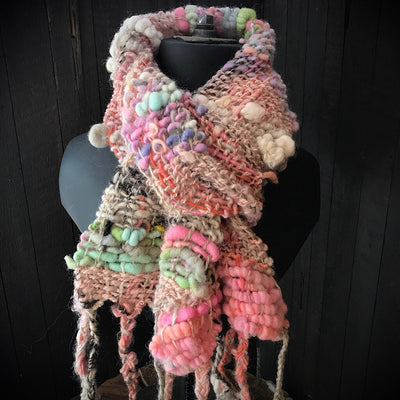 Hand woven scarf SALE code SCARF20