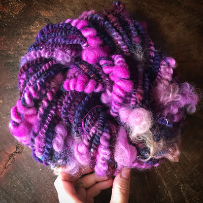 Purple art yarn 100g 20y - Mynoush