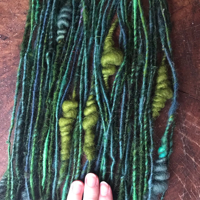 Green  art yarn yarn 70g - Mynoush