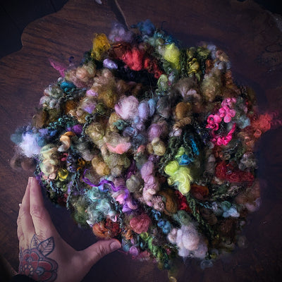 Enchanted forest Art yarn - Giant skein