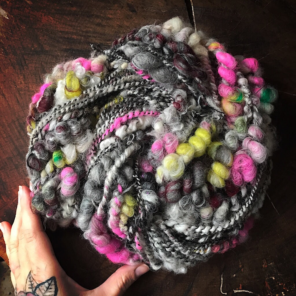 Forever grey Art yarn