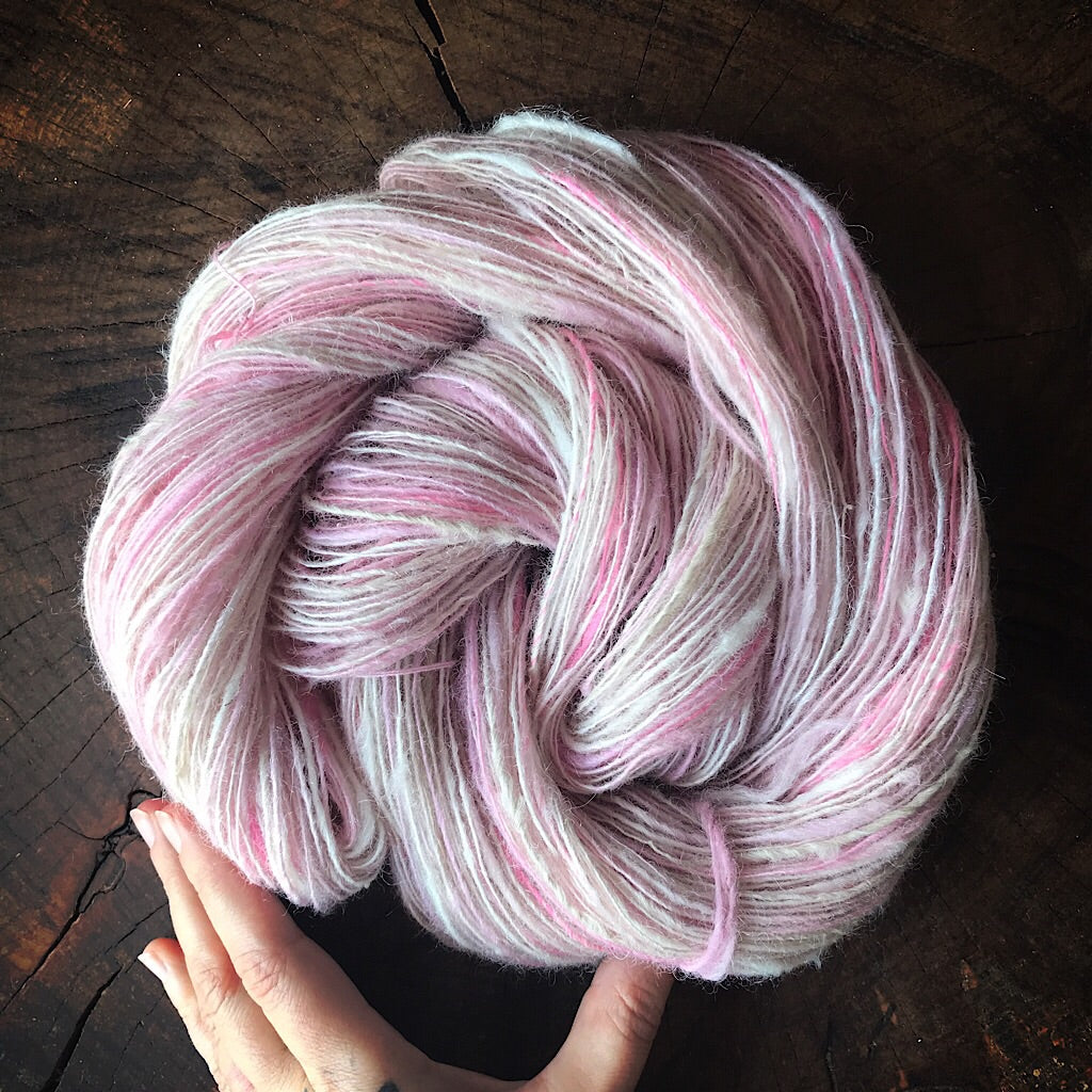 Rose lace Fingering yarn