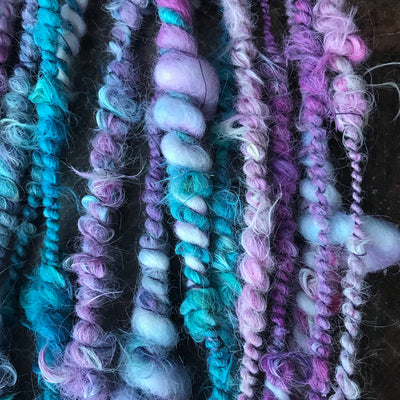 Purple alpaca yarn 100g - Mynoush