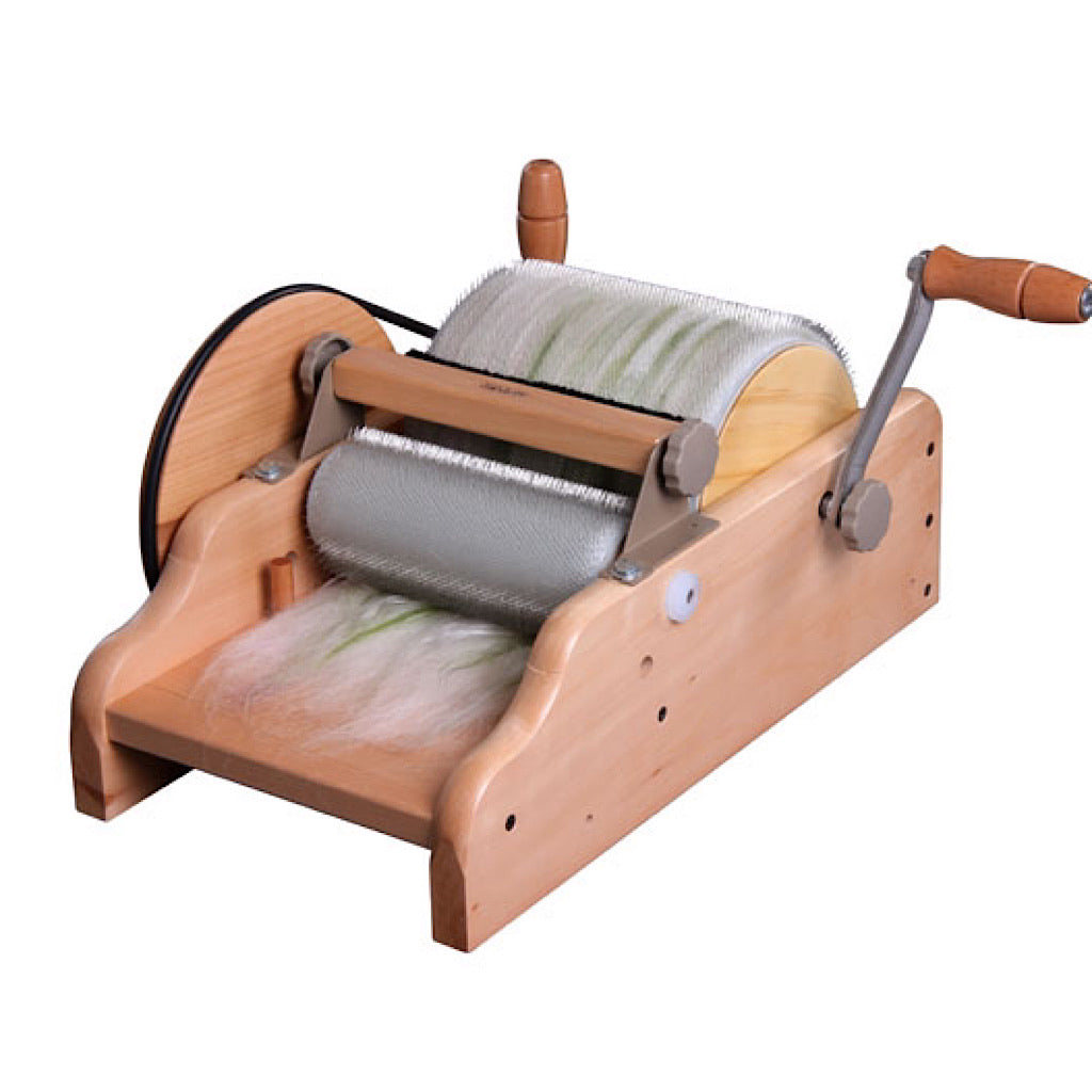 Ashford's Drum carder  Super fine 120 point