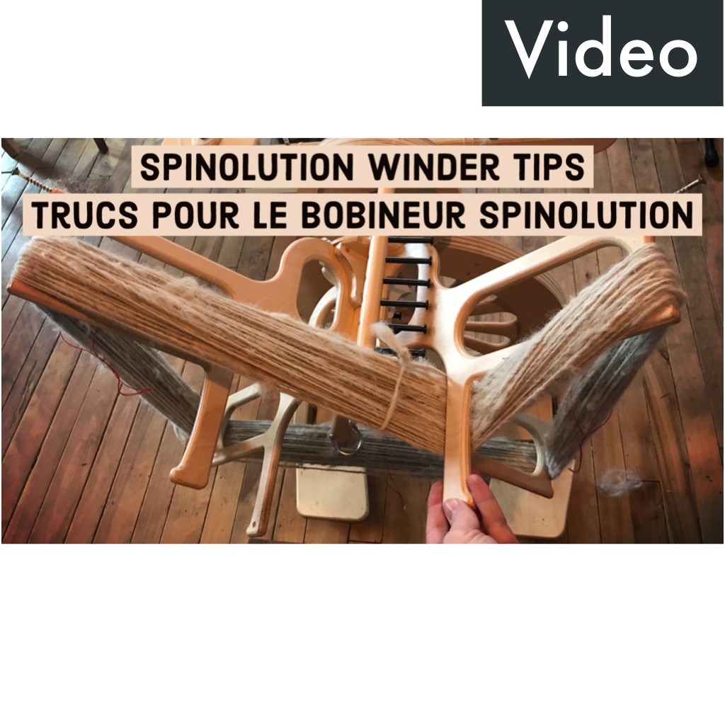 Spinolution winder tips