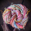 Lily rose hand spun yarn