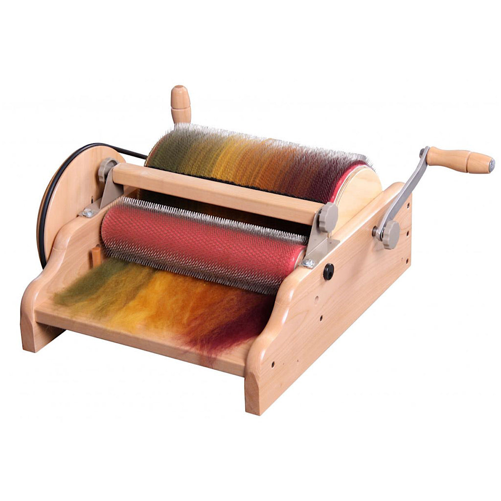 Ashford's Wide Drum carder 72 point