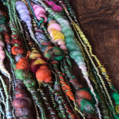 Winter garden Art yarn
