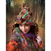 Legend of Fall Fairy felted hood