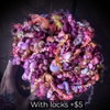 Custom Jumbo Boucle - Petits fruits locks included