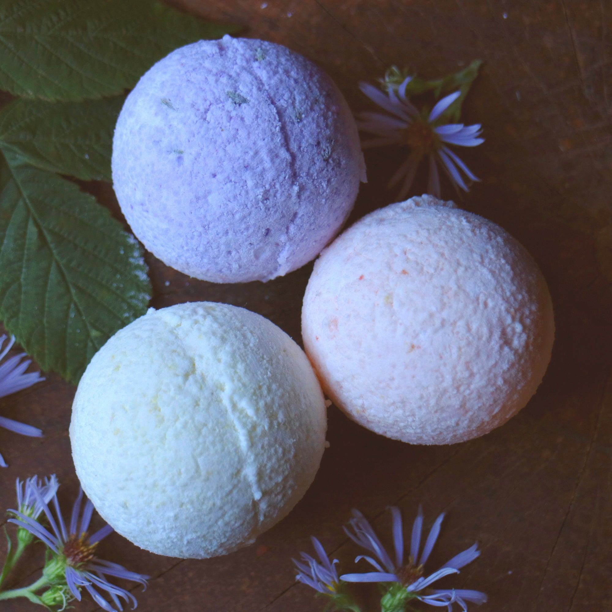 Bath bombs TRIO || 3 bath bombs - Mynoush