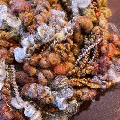 Golden autumn Art yarn