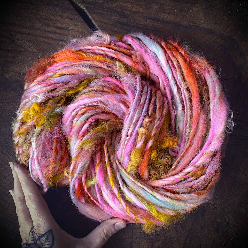 Mangue glacée art yarn