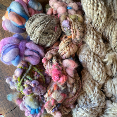 Weavers knitters art yarn bargain set