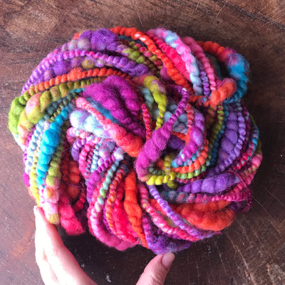 Rainbow  art yarn 100g - Mynoush