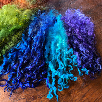 Hand dyed locks