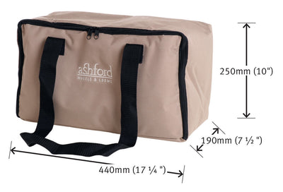 Ashford's Espinner 3 with Lazy Kate, foot controller and carry bag | Rouet électrique avec pédale Ashford - Mynoush