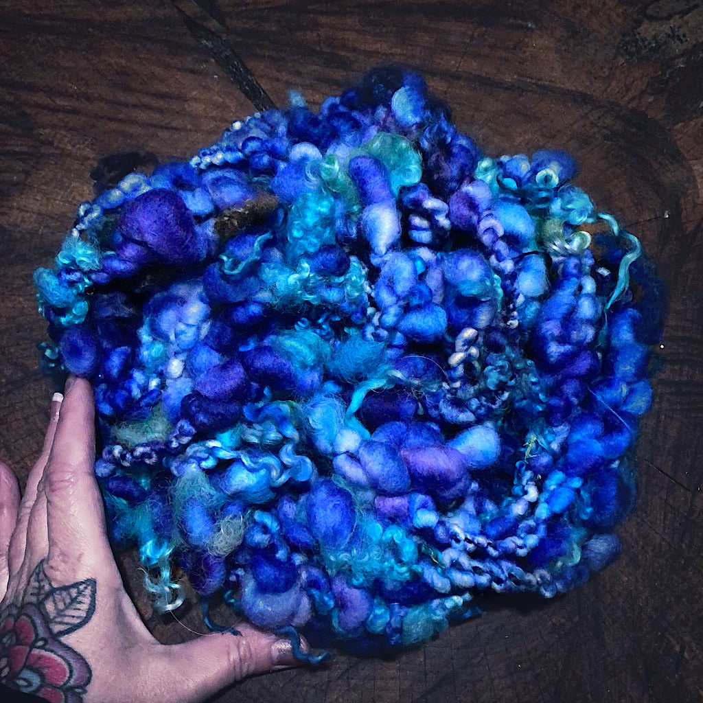 Lady Blue Art yarn