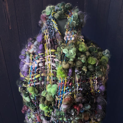 Absinthe - woven scarf