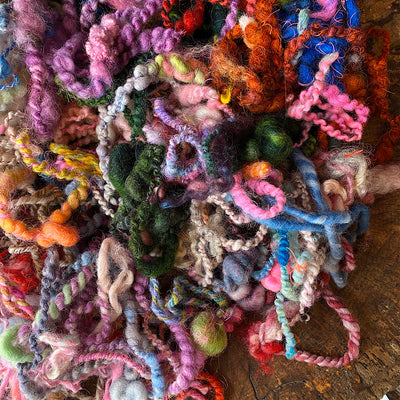 Yarn ends for felters and crafters