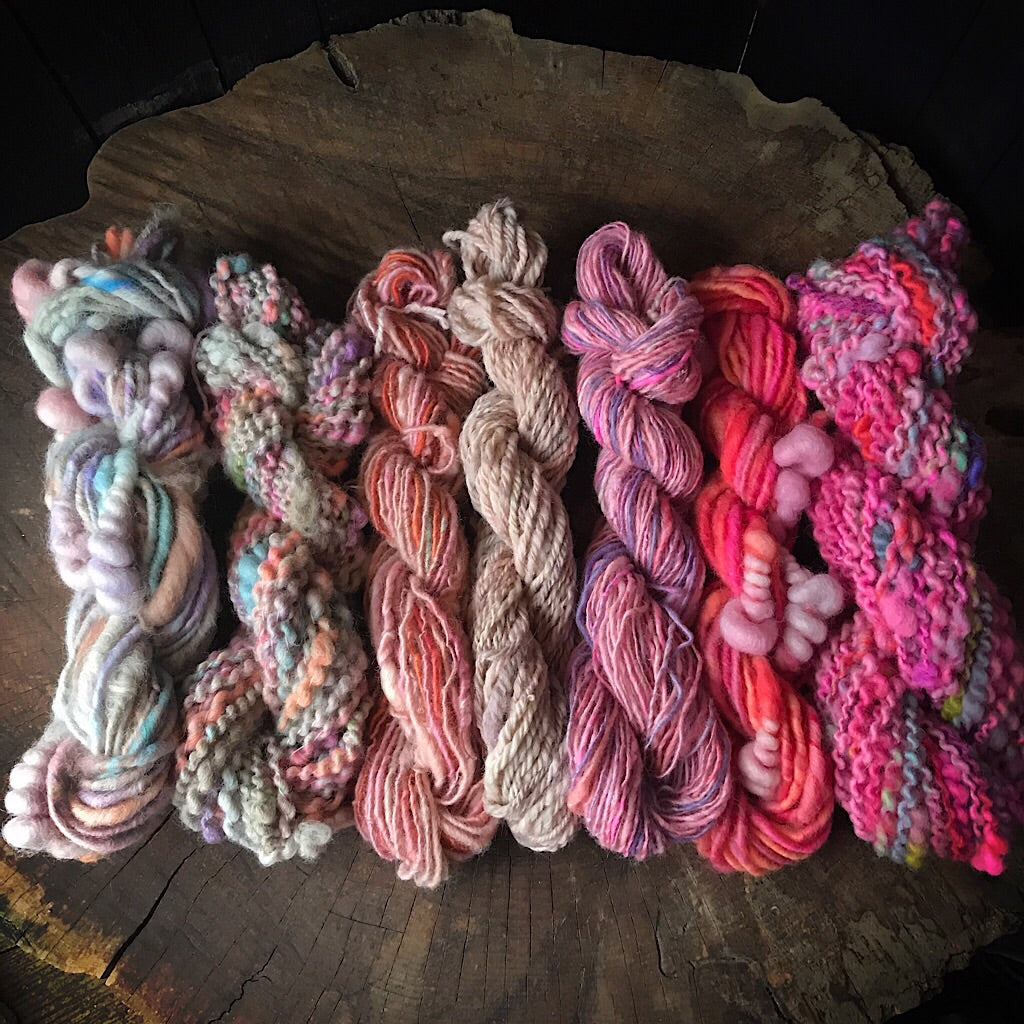 Hand spun yarn kit