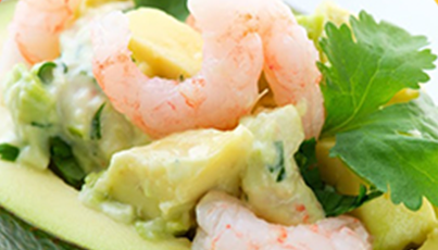 Tapatio Avocado Crab Salad
