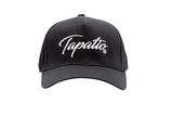 Tapatio White Script Hat in Black