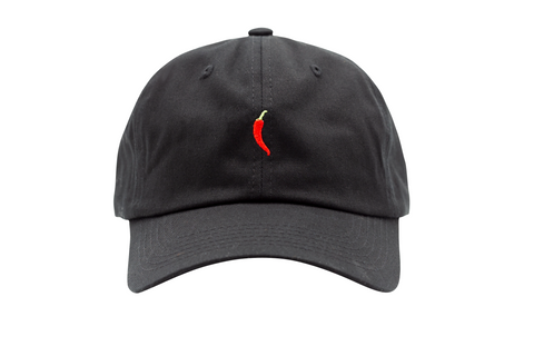 Chili Dad Hat in Black