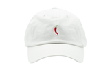 Chili Dad Hat in White