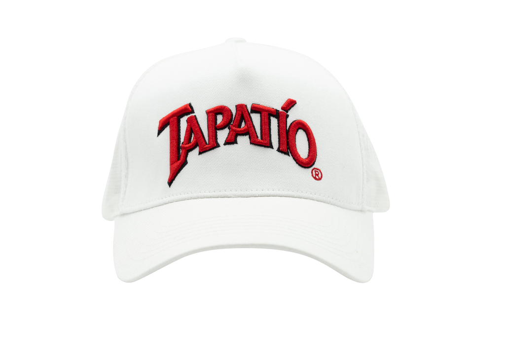 Tapatio Logo Hat in Mesh White