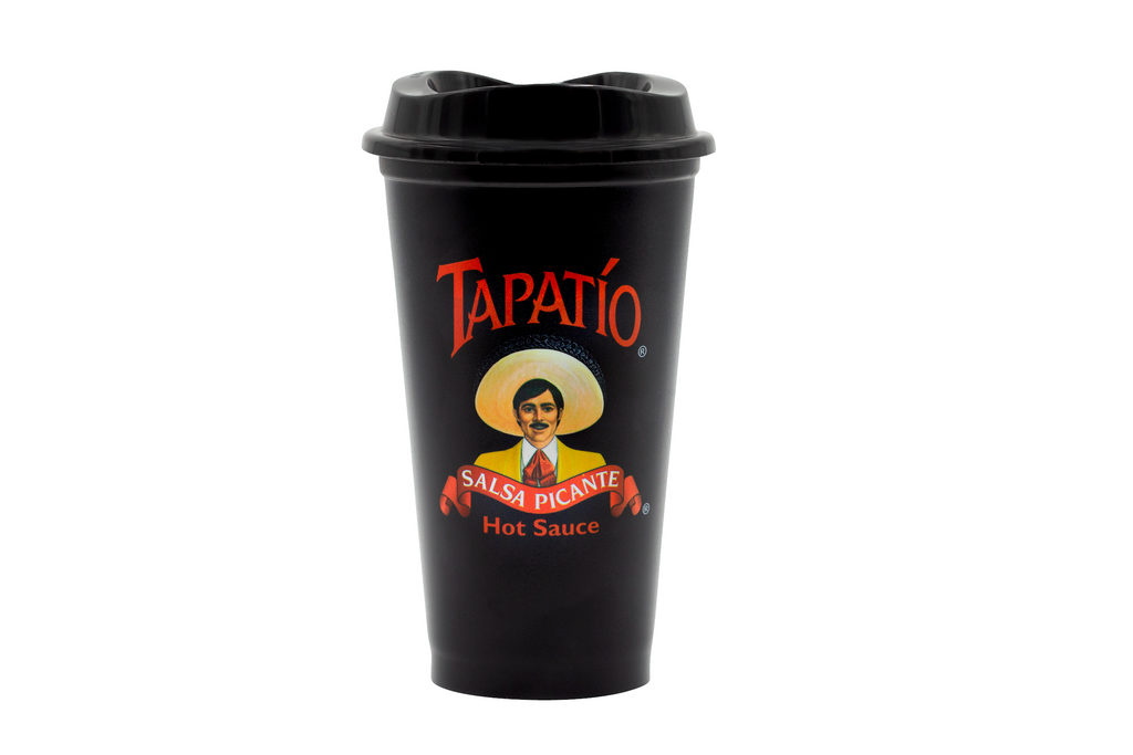 Tapatio Coffee Travel Cup in Black