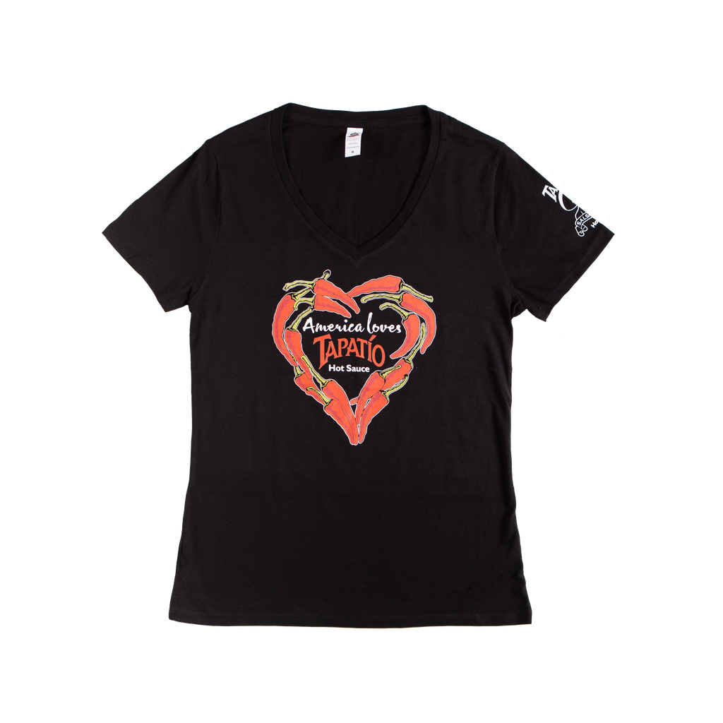 America Loves Tapatio T-shirt in Black