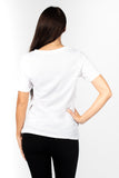*Women's Original Selfie T-shirt in White*