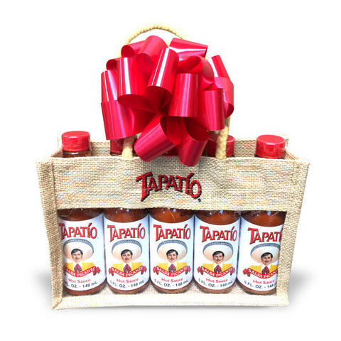 Tapatio Burlap Gift Set
