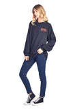 *Unisex Original Crew Neck Spirit Jersey in Black*