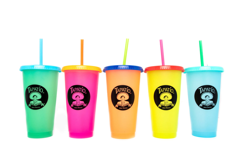 Tapatio Color Changing Cups