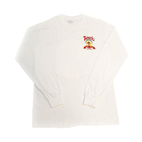 White Tapatio Logo Long Sleeve